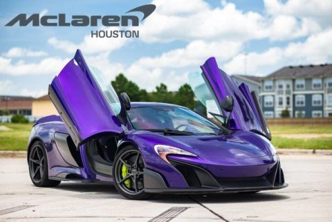 Pre-Owned 2016 McLaren 675LT  RWD 2dr Car