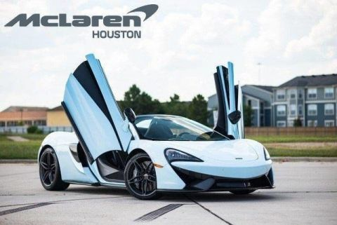 Pre-Owned 2018 McLaren 570S Spider  RWD Convertible