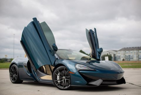 Pre-Owned 2017 McLaren 570GT  RWD 2dr Car