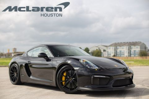 Pre-Owned 2016 Porsche Cayman GT4 RWD 2dr Car