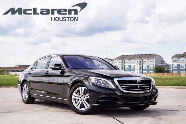 Pre owned 2017 mercedes benz s class s 550 sedan in for Mercedes benz houston lease